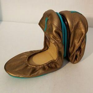 Tieks NEW Bronze Ballet Flats